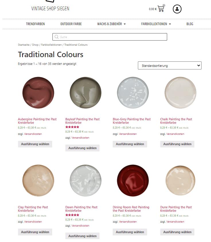 Kreidefarbe kaufen